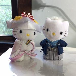 Hello Kitty and Dear Daniel wedding plush